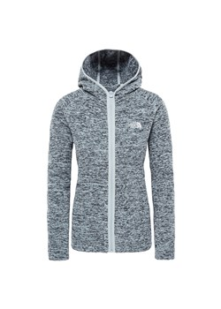 The North Face bluza sportowa szara polarowa
