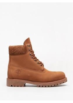 Buty zimowe męskie Timberland w stylu militarnym skórzane
