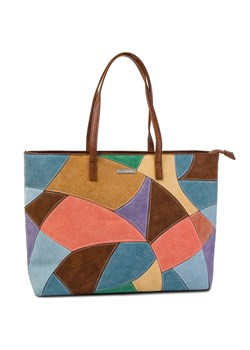 Wielokolorowa shopper bag Desigual
