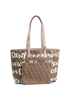 Brązowa shopper bag Dkny