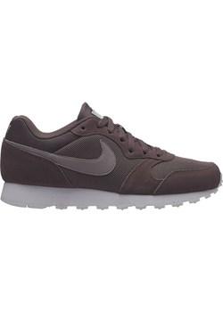 Nike buty sportowe damskie dla biegaczy md runner bez wzorów wiązane na koturnie