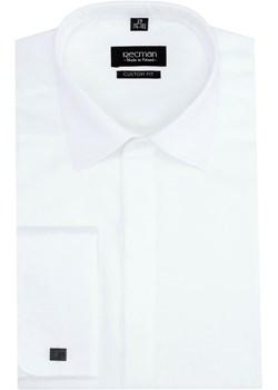 koszula versone 2694 długi rękaw slim fit biały Recman bialy  svL7f