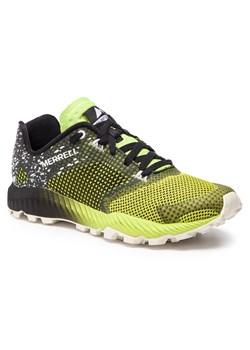 Buty sportowe męskie Merrell sznurowane z tworzywa sztucznego