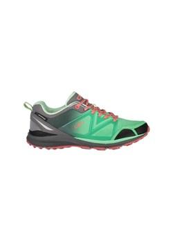 Granatowe buty trekkingowe damskie Cmp sportowe sznurowane gładkie