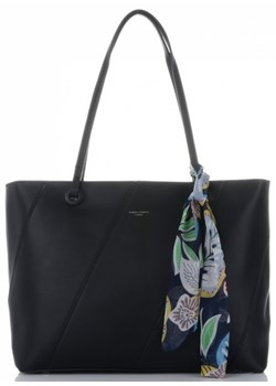 Shopper bag David Jones matowa elegancka na ramię