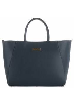 Vittoria Gotti shopper bag szara casual matowa