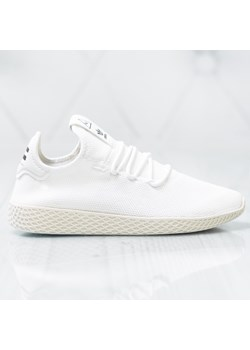 Buty sportowe meskie biale Adidas pharrell williams sznurowane