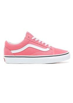 Różowe tenisówki damskie vans vans old skool, wiosna 2020 w