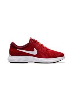 sklep dyskontowy sprzedaż obuwia ekskluzywne buty Buty sportowe damskie Nike do biegania revolution bez wzorów płaskie  sznurowane