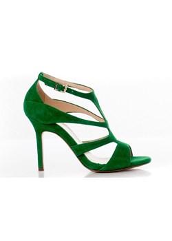 zielone buty damskie eleganckie