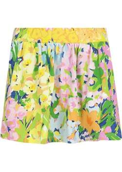 Kremowa ołówkowa spódnica we wzory 8401