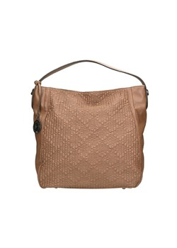 Shopper bag Pierre Cardin boho brązowa do ręki