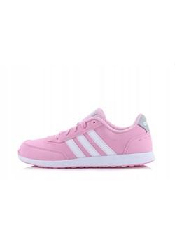 nowy przyjeżdża najtańszy oficjalny sklep Buty sportowe damskie różowe Adidas Neo sznurowane