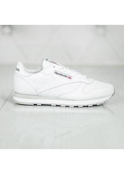 new lifestyle the best promo codes Buty sportowe damskie Reebok dla biegaczy białe gładkie wiązane płaskie