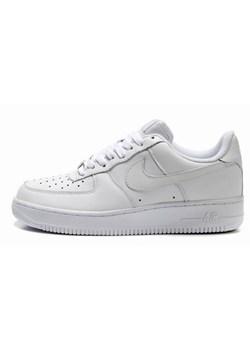 Buty sportowe męskie Nike air force białe z gumy