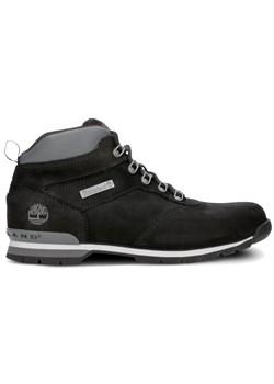 Buty zimowe męskie Timberland ze skóry sportowe sznurowane
