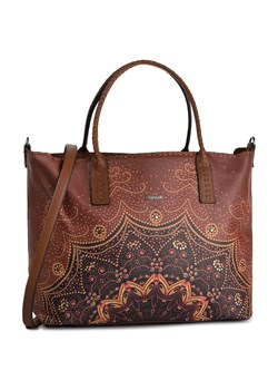 Brązowa shopper bag Desigual duża