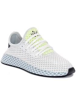 Buty sportowe damskie Adidas bez wzorw bia?e