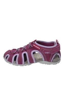 Czerwone buty dziecięce geox, wyprzedaże, wiosna 2020 w Domodi