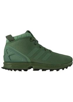 Buty trekkingowe męskie zielone Helly Hansen sznurowane na jesień sportowe