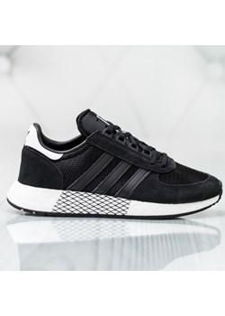 Buty sportowe męskie Adidas equipment czarne sznurowane na