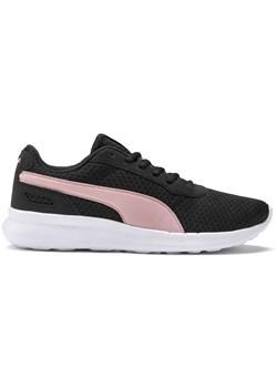 Buty sportowe damskie czarne Puma do biegania na płaskiej podeszwie