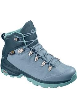 Buty trekkingowe Salomon z płaską podeszwą