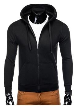 Bluza męska młodzieżowa bez wzorów jesienna