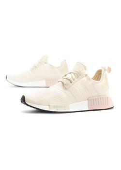 Buty sportowe damskie Adidas dla biegaczy nmd bez wzorów