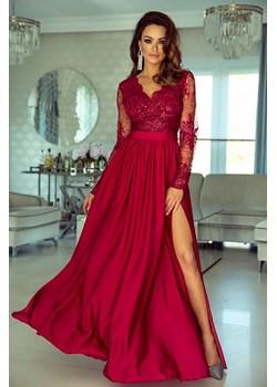 Sukienka Emo Sukienki maxi z długim rękawem balowe