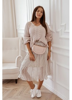 Sweter damski Rose Boutique beżowy