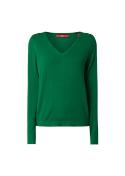 Sweter damski S.oliver Red Label zielony