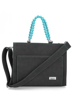 Shopper bag czarna Chiara Design matowa
