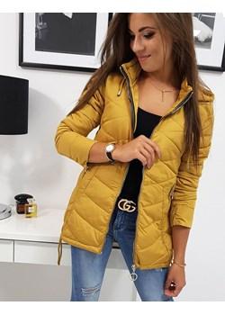 Żółte kurtki damskie, wiosna 2020 w Domodi
