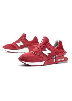 Buty sportowe męskie New Balance czerwone sznurowane