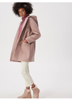 Płaszcz damski Sinsay bez wzorów
