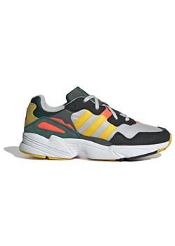 Buty sportowe męskie Adidas zamszowe sznurowane