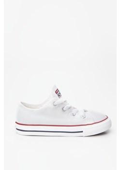 Trampki dziecięce białe Converse sznurowane
