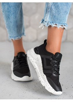 Sneakersy damskie CzasNaButy sznurowane płaskie jesienne sportowe