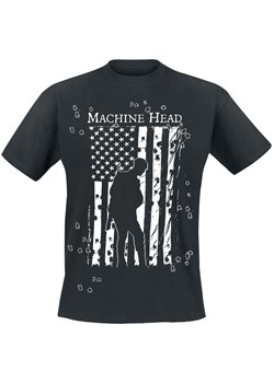 T-shirt męski czarny Machine Head