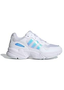 Adidas buty sportowe dziecięce białe bez wzorów