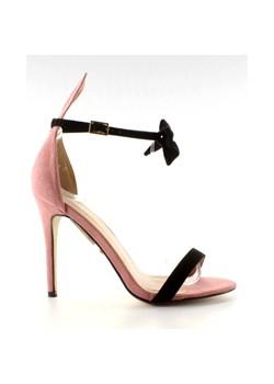 Sandały damskie DeeZee na wysokim obcasie bez wzorów letnie eleganckie