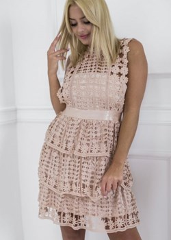Sukienka z poliestru