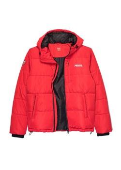 uznane marki Pierwsze spojrzenie Najnowsza Czerwona kurtka męska Prosto. zimowa