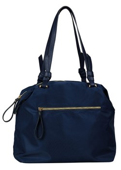 Shopper bag Tom Tailor niebieska