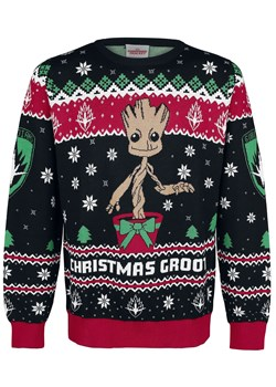 Sweter męski Guardians Of The Galaxy zimowy