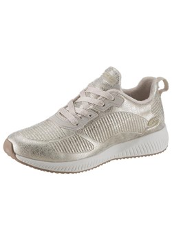 Skechers buty sportowe damskie młodzieżowe srebrne
