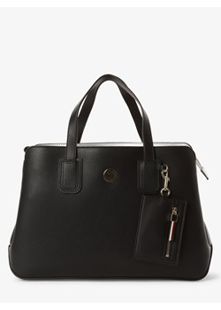 Shopper bag Tommy Hilfiger czarna
