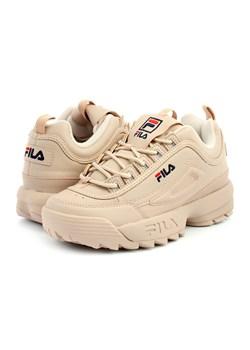 Sneakersy damskie Fila sportowe wiązane