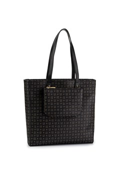 Shopper bag czarna POLLINI